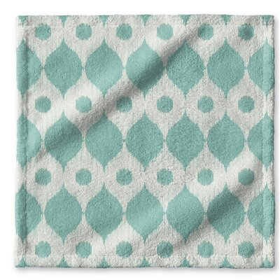 Forrest Rain Wash Cloth Color: Forrest Green