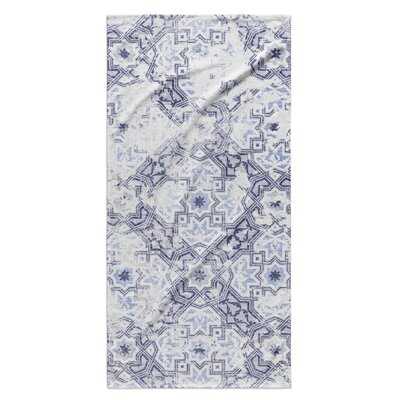 Esther Beach Towel Color: Blue