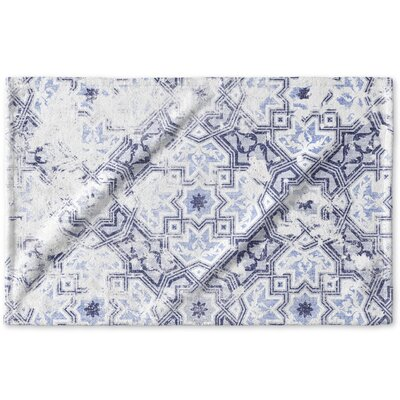 Esther Hand Towel Color: Blue