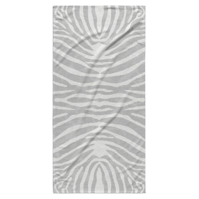 Nerbone Beach Towel Color: Grey/ Ivory