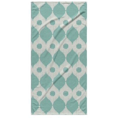 Forrest Rain Beach Towel Color: Forrest Green