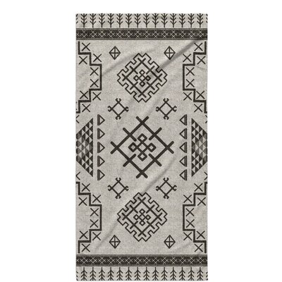 Cyrill Beach Towel Color: Beige