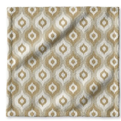 Underhill Geometric Wash Cloth Color: Gray