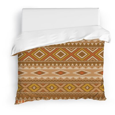 Sedona Duvet Cover Size: Twin, Color: Brown/Tan/Red/Gold