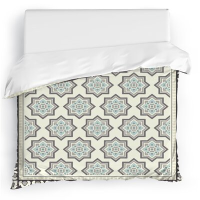 Balance Duvet Cover Size: Full/Queen, Color: Blue/Brown