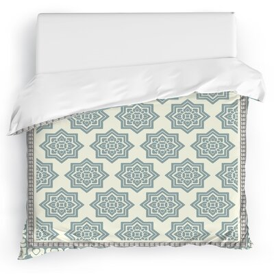Balance Duvet Cover Color: Blue, Size: Full/Queen