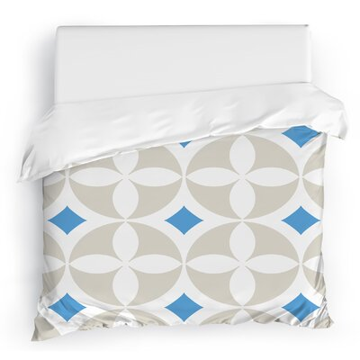 Circled Duvet Cover Size: Twin