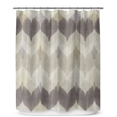 Marshall Brown/Tan Shower Curtain