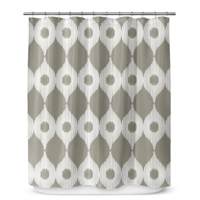 Forrest Rain Shower Curtain Color: Gray