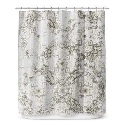 Esther Shower Curtain Color: Gray