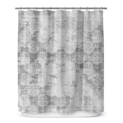 Victoire Shower Curtain Color: Gray