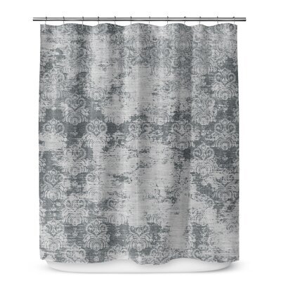 Victoire Shower Curtain Color: Dark Gray
