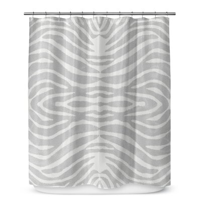 Nerbone Shower Curtain Color: Gray
