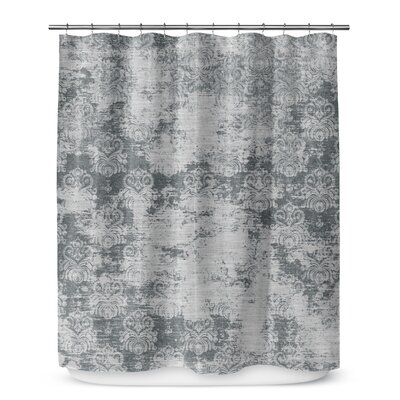 Victoire Gray Shower Curtain Color: Dark Gray