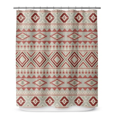 Cabarley Shower Curtain Color: Tan