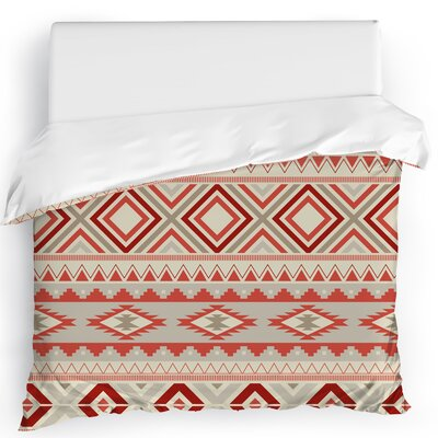 Cabarley Duvet Cover Size: King, Color: Tan