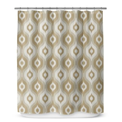 Underhill Shower Curtain Color: Brown