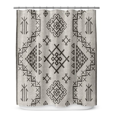 Cyrill Shower Curtain Color: Beige