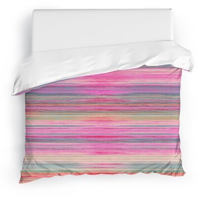 Abstract Sunset Duvet Cover Size: Full/Queen