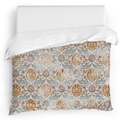 Estancia Duvet Cover Size: Full/Queen, Color: Gray