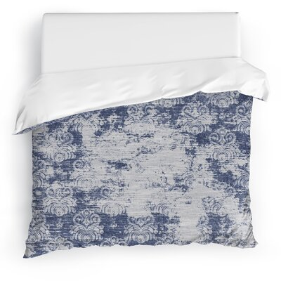 Cataleya Duvet Cover Size: King, Color: Blue
