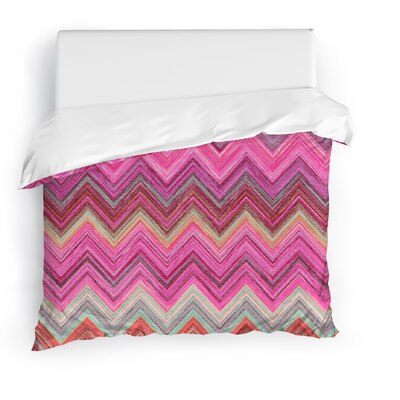 Marshall Pink Duvet Cover Size: Twin