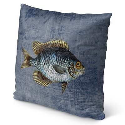 Ellenburg Burlap Indoor/Outdoor Throw Pillow Size: 16 H x 16 W x 5 D