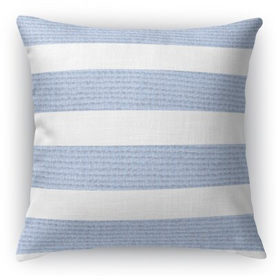 Centerville Throw Pillow Color: Light Blue, Size: 18 H x 18 W x 5 D