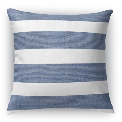 Centerville Throw Pillow Color: Blue, Size: 18 H x 18 W x 5 D