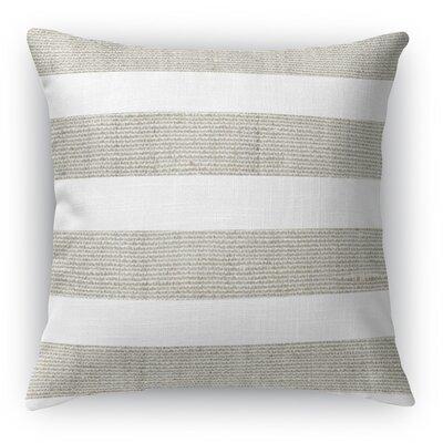 Centerville Throw Pillow Color: Gray, Size: 18 H x 18 W x 5 D