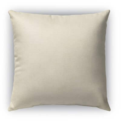 Burlap Indoor/Outdoor Throw Pillow Size: 18 H x 18 W