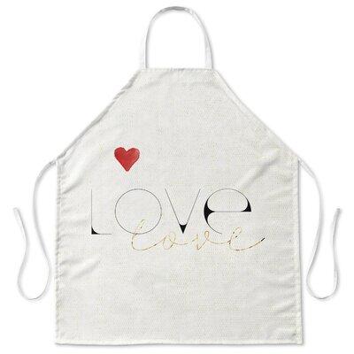 Love Love Kitchen Apron APR-SPFAP-31X36-TEL8105