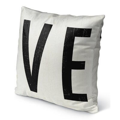 VE Burlap Indoor/Outdoor Pillow Size: 16 H x 16 W