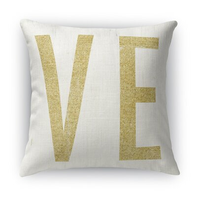 VE 2 Indoor Accent Pillow Size: 18 H x 18 W