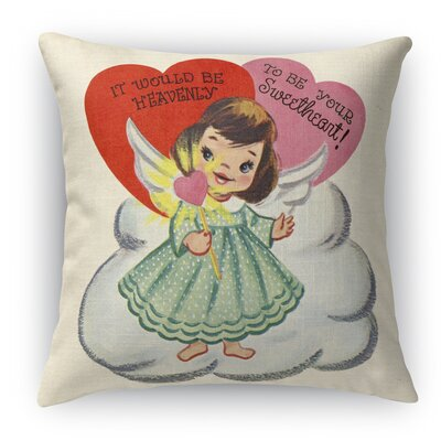 To Be Your Sweet Heart Indoor Throw Pillow Size: 18 H x 18 W