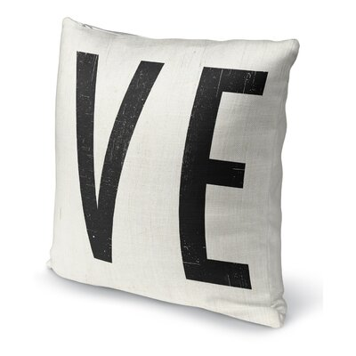 VE Indoor Accent Pillow Size: 16 H x 16 W