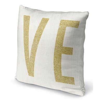 VE 2 Indoor Accent Pillow Size: 24 H x 24 W