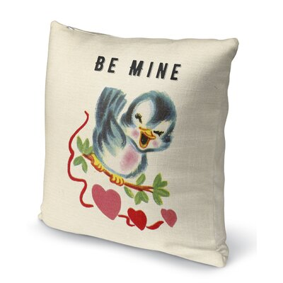 Be Mine 2 Indoor Accent Pillow Size: 16 H x 16 W