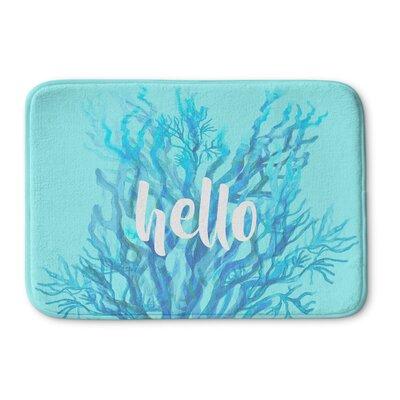 Hello Bath Mat Size: 17 W x 24 L