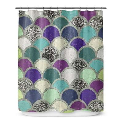 Mermaid Scales 72 Shower Curtain