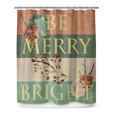 Be Merry and Bright 72 Shower Curtain