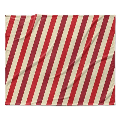 Stripes Throw Blanket Size: 60 W x 80 L