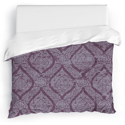 Rain Duvet Cover Size: King, Color: Purple