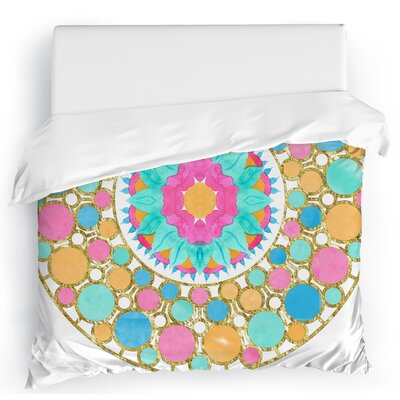 Let it Pop Duvet Cover Size: Twin