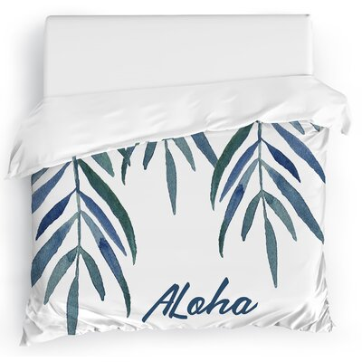 Aloha Duvet Cover Size: Full/Queen