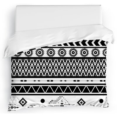Moroccan Duvet Cover Size: Full/Queen