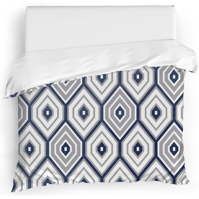 Honeycomb Duvet Cover Size: Twin