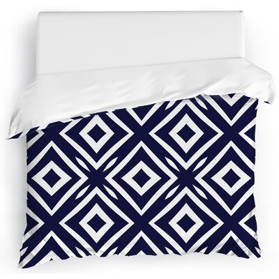 Square Peg Duvet Cover Size: King