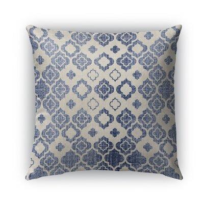 Cagliari Burlap Indoor/Outdoor Throw Pillow Size: 18 H x 18 W x 5 D