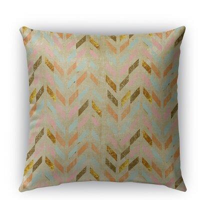 Palermo Burlap Indoor/Outdoor Throw Pillow Size: 18 H x 18 W x 5 D